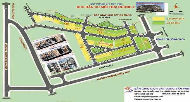 Sàn giao dịch BĐS VRM phân phối dự án KĐT Thái Dương 2
