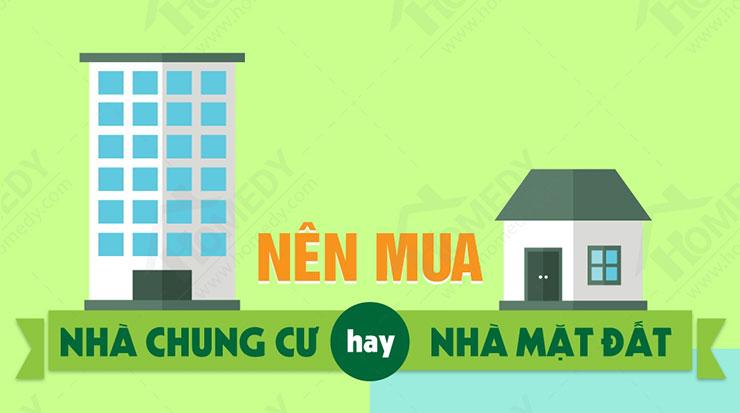 Nên mua căn hộ hay mua đất xây dựng nhà ở????