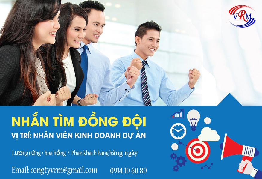 Công ty CP truyền thông VRM tuyển dụng tháng 10